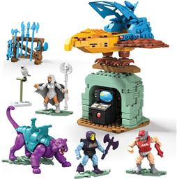 Masters of the Universe (MOTU): Panthor at Point Dread Mega Construx Probuilders Samlesæt
