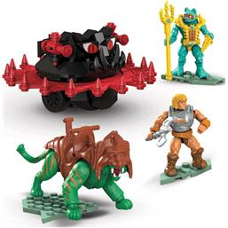 Masters of the Universe (MOTU): Battle Cat vs. Roton Mega Construx Probuilders Samlesæt