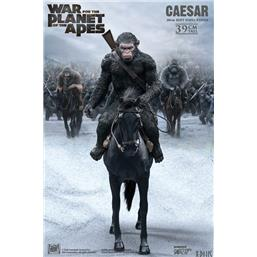 Planet of the Apes: Caesar with Gun Soft Vinyl Statue 39 cm