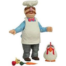 Swedish Chef & Chicken Action Figures 6-12 cm 2-Pack