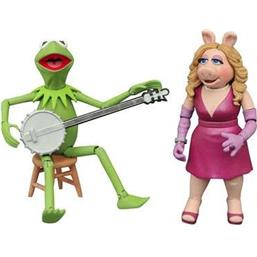 Kermit & Miss Piggy Action Figures 13 cm 2-Pack