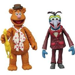 Gonzo & Fozzie Action Figures 13 cm 2-Pack