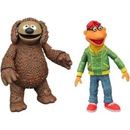 Scooter & Rowlf Action Figures 13 cm 2-Pack
