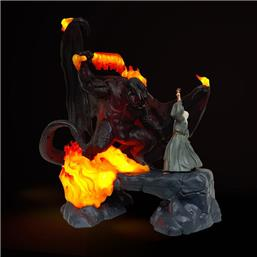 Lord Of The Rings: The Balrog Vs Gandalf LED-USB Lampe 41 cm