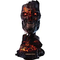 Terminator: T-800 Endoskeleton Mask Battle Damaged Version Replica 1/1 46 cm