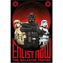 Rogue One Enlist Now/The Galactic Empire