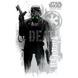 Star Wars: Rouge One Death Trooper Plakat