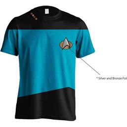 Star Trek: Blue Uniform T-Shirt
