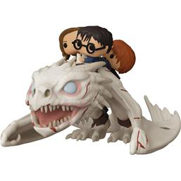 Gringotts Dragon w/Harry, Ron, & Hermione POP! Rides Vinyl Figur 15 cm (#93)