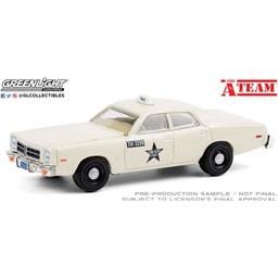 A-Team: Dodge Monaco Taxi 1978 Diecast Model 1/64