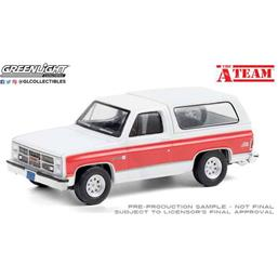 A-Team: GMC Jimmy 1983 Diecast Model 1/64