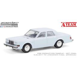 A-Team: Dodge Diplomat 1981 Diecast Model 1/64