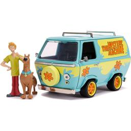 Diverse: Mystery Machine Diecast Model 1/24 med Shaggy og Scooby