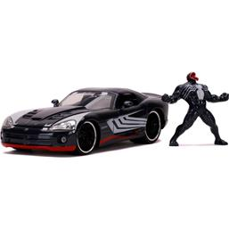 Spider-Man: Venom med Dodge Viper SRT10 2008 Diecast Model 1/24