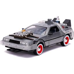 Back To The Future: DeLorean Time Machine Diecast Model 1/24