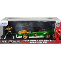 Power Rangers: Honda NSX Type-R  Diecast Model 1/24 med Green Ranger