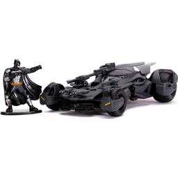 Batman og Batmobile Diecast Model 1/32
