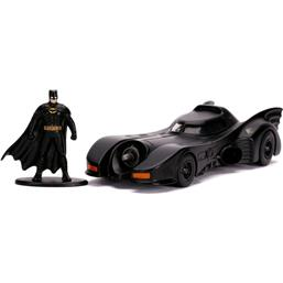 Batman og Batmobile 1989 Diecast Model 1/32