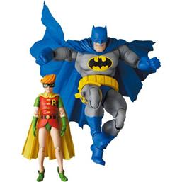 Batman Blue Version & Robin MAF EX Action Figures 11- 16 cm