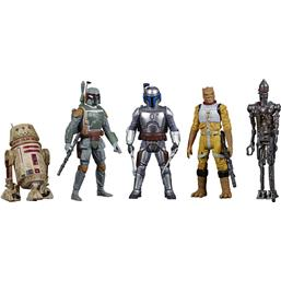 Bounty Hunters Action Figures 5-Pack 10 cm