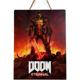 Doom: Eternal WoodArts 3D Wooden Wall Art 30 x 40 cm