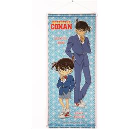 Case Closed: Conan & Shinichi Wallscroll 28 x 68 cm