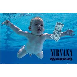 Nirvana: Nevermind Cover plakat