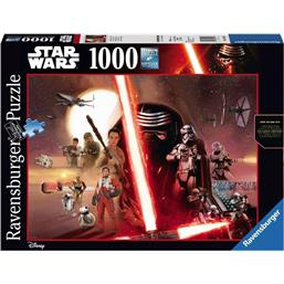 Star Wars: The Force Awakens Puslespil (1000 Brikker)