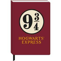 Harry Potter: Platform 9 3/4 Notesbog