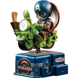Captain America CosRider Mini Figure with Sound & Light Up 15 cm