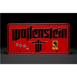 Wolfenstein: The New Colossus Metal Skilt
