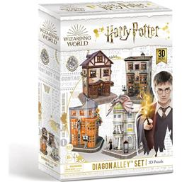 Harry Potter: Diagon Alley 3D Puslespil (273 brikker)