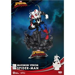 Spider-Man: Maximum Venom Spider-Man D-Stage Diorama 16 cm