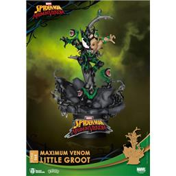 Spider-Man: Maximum Venom Little Groot D-Stage Diorama 16 cm