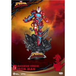 Iron Man: Maximum Venom Iron Man D-Stage Diorama 16 cm