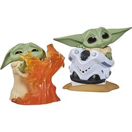 Star Wars: The Child Helmet Hiding & Stopping Fire Bounty Collection Figures 2-Pack