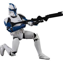 Phase I Clone Trooper Lieutenant Black Series Action Figure 15 cm