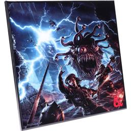 Dungeons & Dragons: Monster Manual Crystal Clear Picture 32 x 32 cm