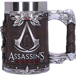 Assassin's Creed Tankard Logo Leather Finish Edition