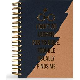 Harry Potter: Trouble Usually Finds Me A5 Notesbog