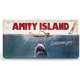 Jaws Film Plakat Metal Skilt