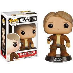 Star Wars: Han Solo POP! Vinyl Bobble-Head (#79)