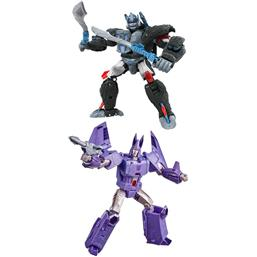 Optimus Primal and Cyclonus Action Figures Voyager 18 cm