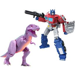 Megatron (Beast) and Optimus Prime Action Figures Leader 18 cm
