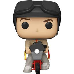 Lloyd Christmas on Bicycle POP! Rides Vinyl Figur 18 cm (#95)