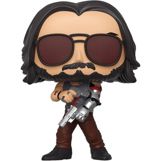 Cyberpunk 2077: Johnny Silverhand II POP! Games Vinyl Figur