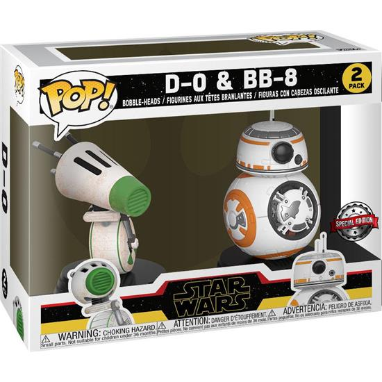 Star Wars: D-O & BB-8 POP! Movies Vinyl Bobble-Head 2-Pak