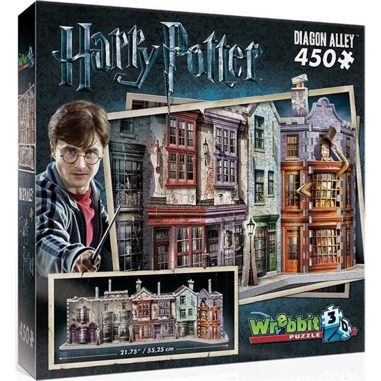 Harry Potter: Diagon Alley 3D Puslespil