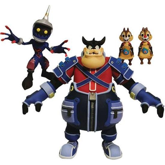 Kingdom Hearts: Pete, Chip & Dale, Soldier Action Figurer 18 cm