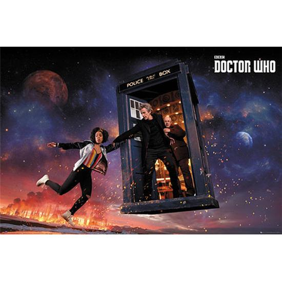 Doctor Who: Doctor Who Plakat - Sæson 10 Iconic